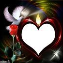 coeur bougie