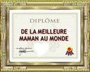 DIPLOME DE MEILLEUR MAMAN+PHOTO