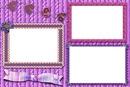 pretty purple frame