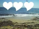 Au bord de la plage ...