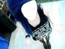 Emo de cabelo roxo