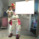 clown et bébé