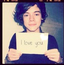 harry  : love you too!!