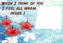 think of you warm inside 1 rectangle