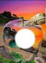Pomme coucher de soleil