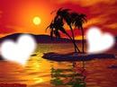 Couché de soleil amoureeux <3