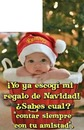 feliz navidad para una amiga