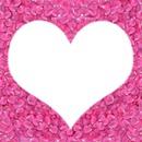 Cœur rose