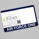 Air Force One card