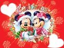Minnie et Mickey Noël