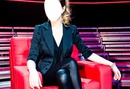 Annie Villeneuve dans le fauteuil de La Voix