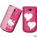 face of the handphone hello kitty:)