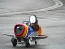 avion à pedale