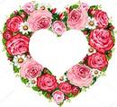 corazon floral