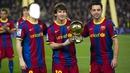 Messi,Xavi and you!