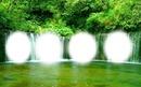 vízesés tájkép