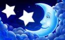 La lune dans les étoiles*