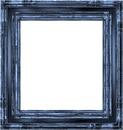 cadre carré bleu