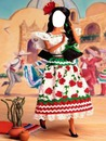 barbie con traje regional