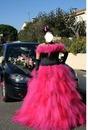 mariée rose et noire