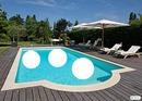 piscine avec 3 amis