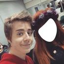 selfie com o clebit