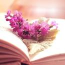 livre et fleurs