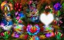 magico jardin luminoso