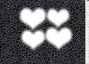 des coeur entre les coeur