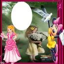 mime et princesse pour enfant
