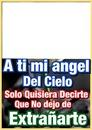 A TI MI ANGEL