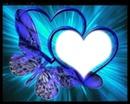 coeur papillon