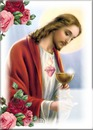 Jesus dando la comunion