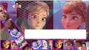 Capa da Anna de Frozen em uma aventura congelante