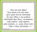 """Feliz Dia Das Mães! Por""""Maria Ribeiro"""""""