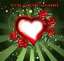 """""""goedeavond in hartvorm"""""""