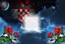Hrvatska zastava u ružama