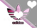 Adidas avec 3 Coeur