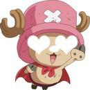 One Piece chopper est amoureux