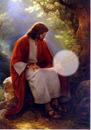Sentada con Jesús