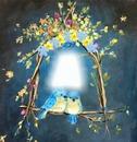 Cc Arco de flores romantico