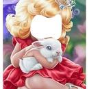 renewilly niña y conejo