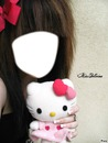 emo hello kitty rose