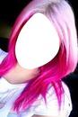 cabelo cor-de-rosa
