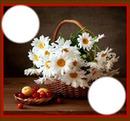 panier de fleurs*
