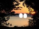 levé du soleil fleuve st-laurent