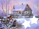 Paysage de Noel