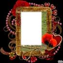 cadre en fleur