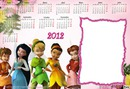 calendario 2012 tinkerbell