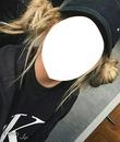 Loira penteado tumblr rosto
